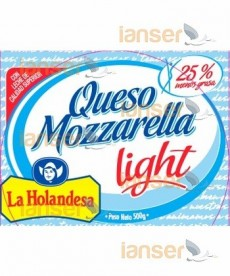 Queso Mozzarella Light