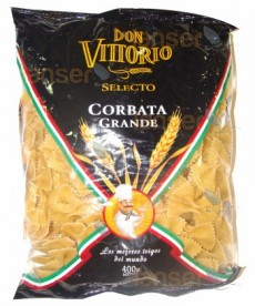 Fideo Corbata Grande