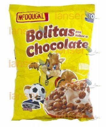 Cereal Funda Bolitas Chocolate