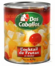 Coctel De Frutas En Almíbar