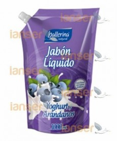 Jabón Líquido Yogurt Y Arándanos