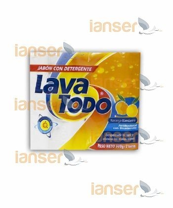 Jabón Con Detergente Naranja Y Mandarina X2