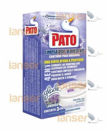 Adhesivo Inodoro Lavanda