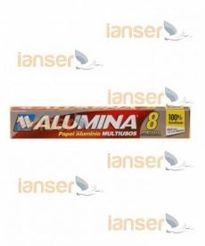Papel Aluminio Plegadiza