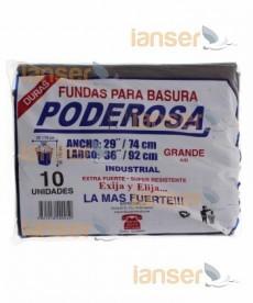 Funda De Basura Industrial 29X36