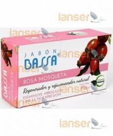 Jabón Rosa Mosqueta Quita Manchas