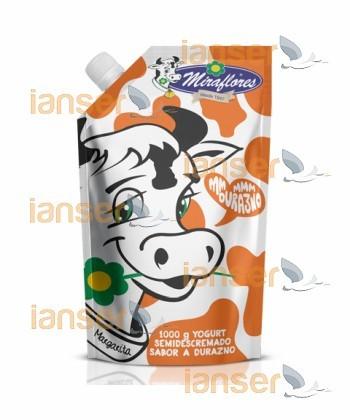 Yogurt Cartón Durazno