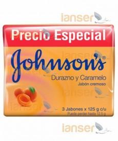 Jabón Tripack Durazno Y Caramelo 125 Gr C-U