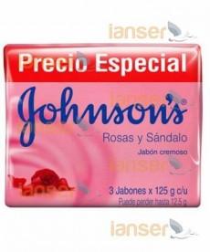 Jabón Tripack Rosas Y Sándalo 125 Gr C-U