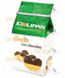 Orejas Con Chocolate