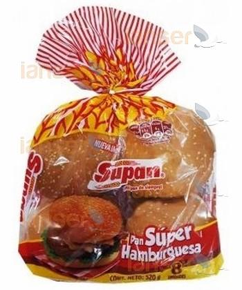 Pan Para Hamburguesa - Súper Hamburguesa