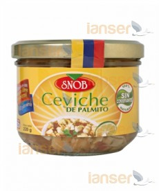 Ceviche de Palmito Frasco