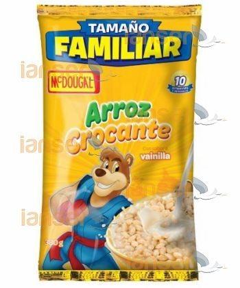 Arroz Crocante Vainilla En Funda